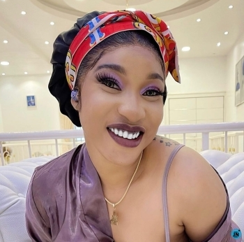 """""""Being born again has nothing to do with my inner craze"""" — Tonto Dikeh warns trolls"""